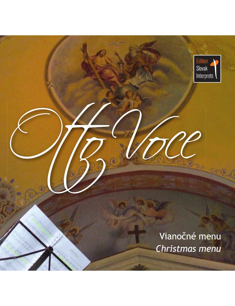 Christmas menu - Otto voce €7.91 Music Store